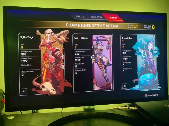 Apex Legends: General - One more dub on the night image 2