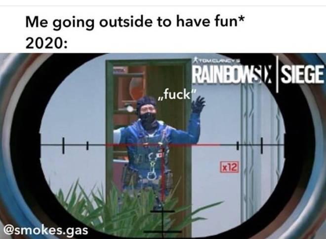Rainbow Six: Memes - This how I really feel like rn🤣 image 1