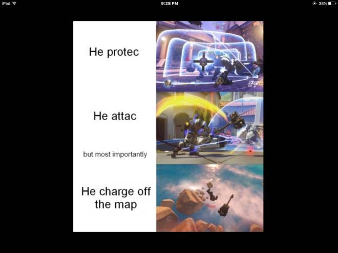 Overwatch: Memes - I was bored and found some overwatch memes image 2