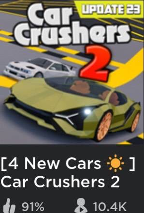 Roblox: General - I can not even get 2of the new cars  image 1