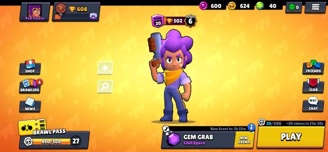 Brawl Stars: General - Just got 500 trophies on both accounts! image 1