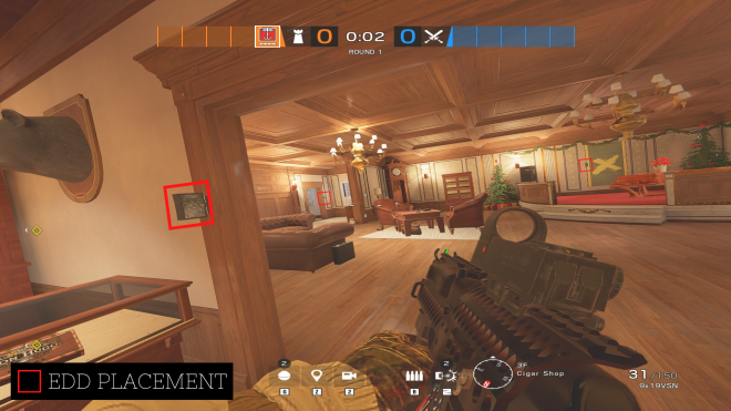 Rainbow Six: Guides - Guide for playing 'Kapkan' on 'Kafe'. image 3
