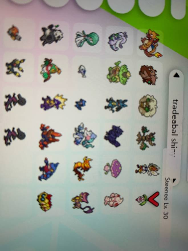 Pokemon: Trading - (Edited)I want Pokéball magerna and will give any of these with master ball and flame orb image 5