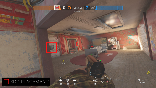 Rainbow Six: Guides - Guide for playing 'Kapkan' on 'Theme Park'. image 7