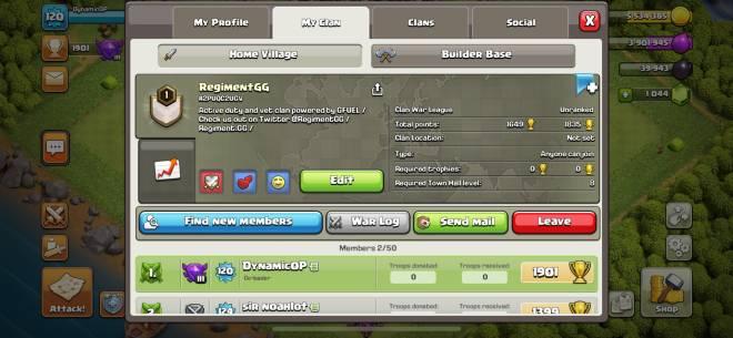 Clash of Clans: General - @RegimentGG on Twitter image 1