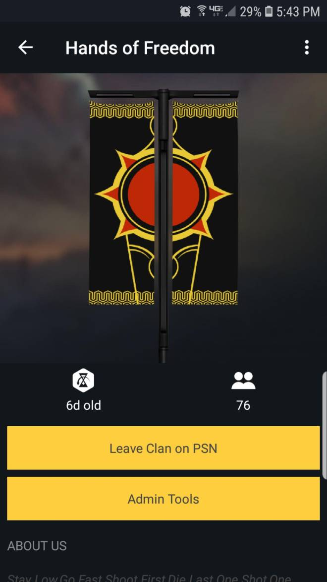 Destiny: General - Looking for a new clan? Well over in hands of freedom might be what ur looking for image 1