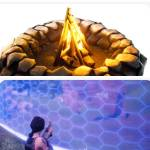Welcome to Fortnite where rain kills you and fire  heals you