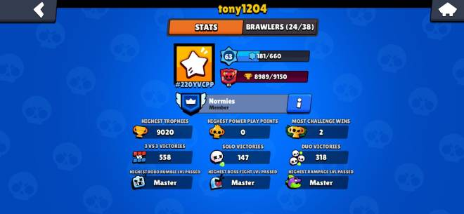 Brawl Stars: General - 500 trophys for Jessie and a big thanks to tony for helping me out!😁 image 2