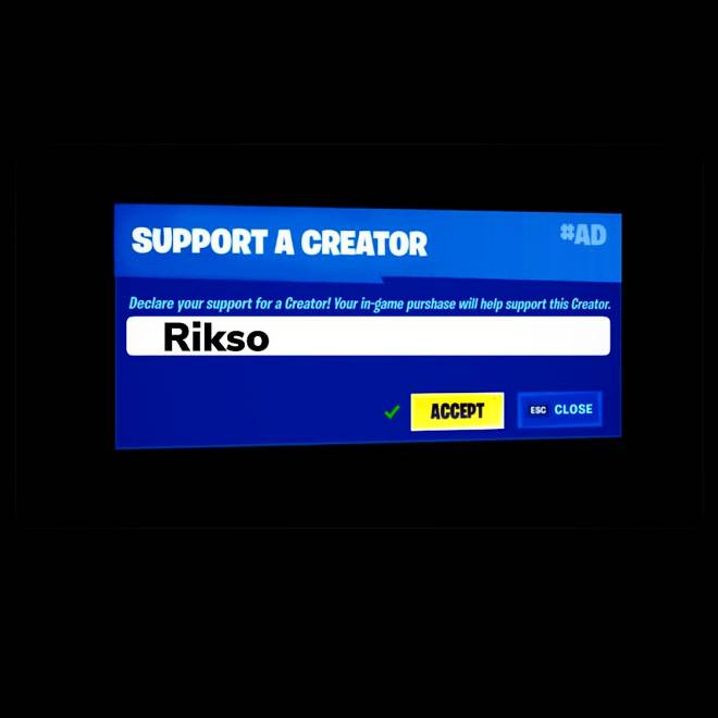 Fortnite: Battle Royale - Help me get a creator code by following my insta account rikso.ig                   image 2