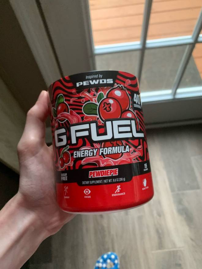 G Fuel: General - I just got my first tub of g fuel excited to try image 1
