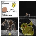 Oh no Pikachu!!!