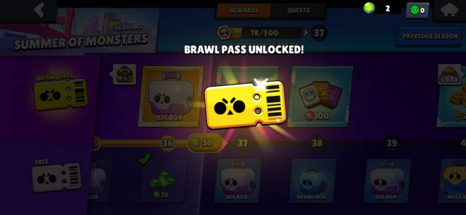 Brawl Stars: General - Finally got battle pass being free to play!😁 image 1