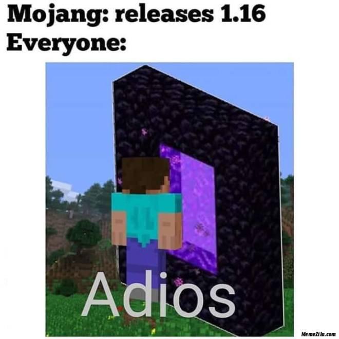 Minecraft: Memes - 1.16 Bro image 2