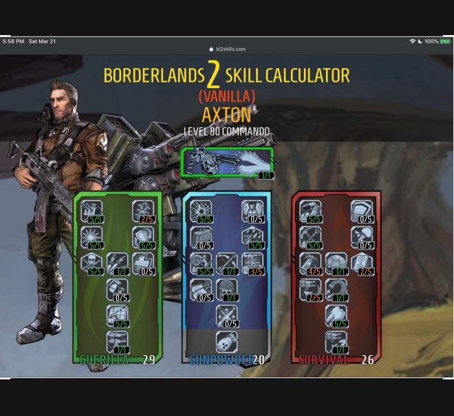 Borderlands: General - My trees You can use them if you want, you have my permission. image 5