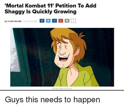 Mortal Kombat: General - This needs to happen who support this image 1