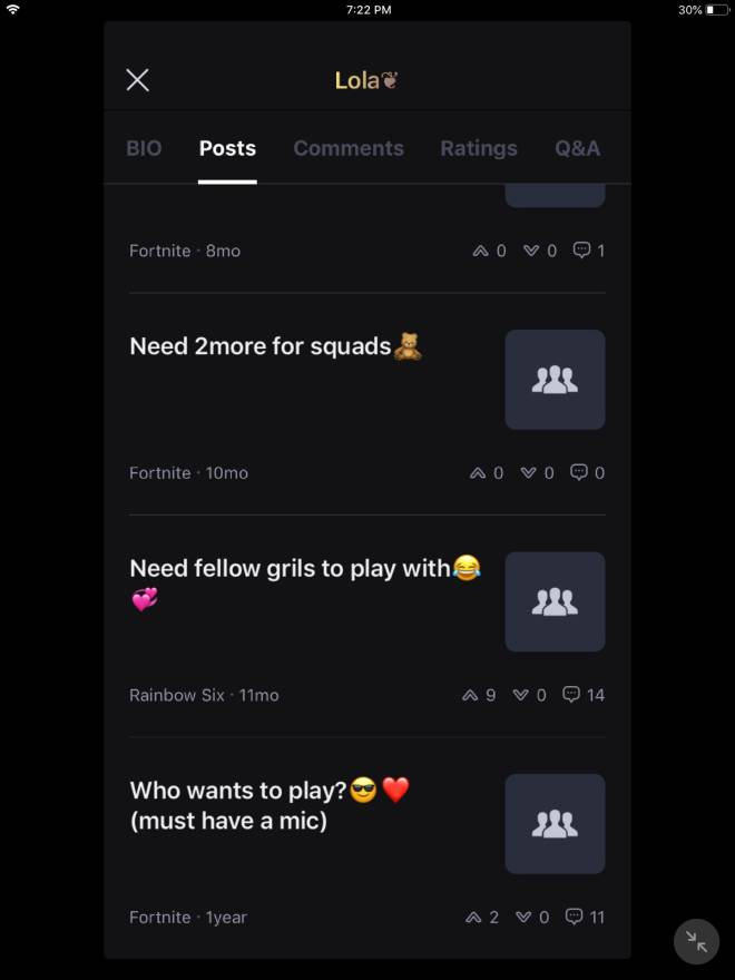 Off Topic: General - I decided to scroll to Lola's first post who should I do next 😎 image 1