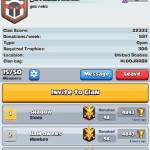 Join my clan for wars and donos