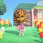 Using Animal Crossing's King Tut Mask for Fun and Games