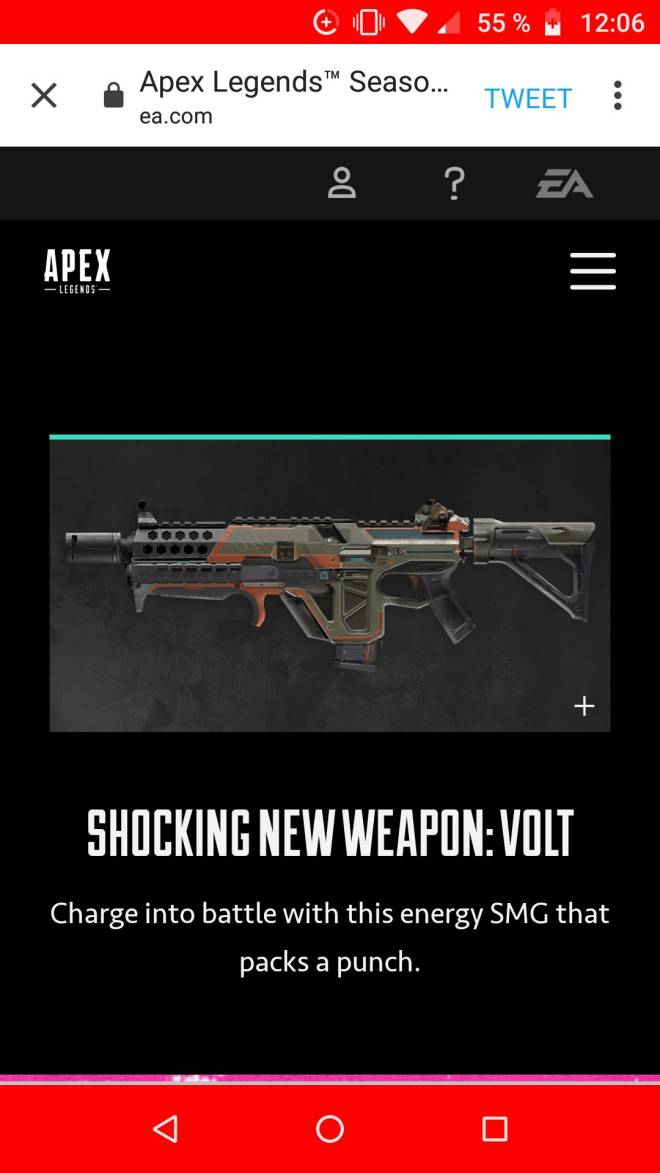 Apex Legends: General - Watcha guys think? I personally LOVE this gun image 1