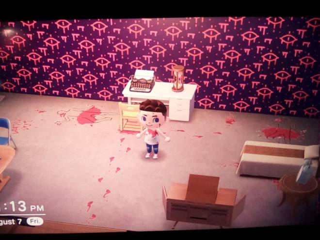 Animal Crossing: Posts - There's a psycho on the loose! image 2