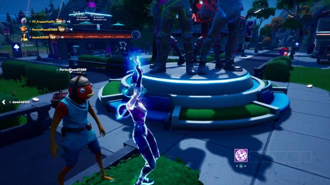Fortnite: Battle Royale - Why every fishstick skin gotta be a  creepy or act creepy he just watching me image 1