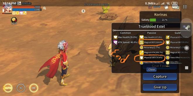 Taming Master: Bug report - the problem not solved with passive improvements (Trueblood Estel)  image 7