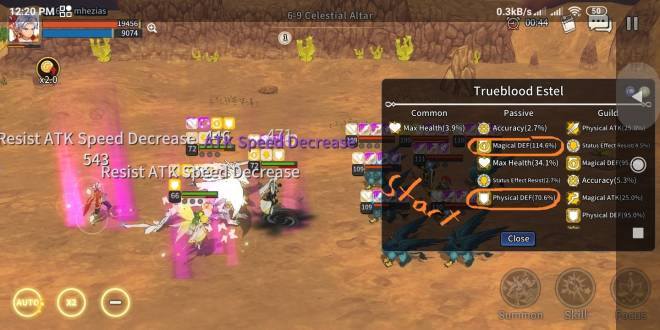 Taming Master: Bug report - the problem not solved with passive improvements (Trueblood Estel)  image 6