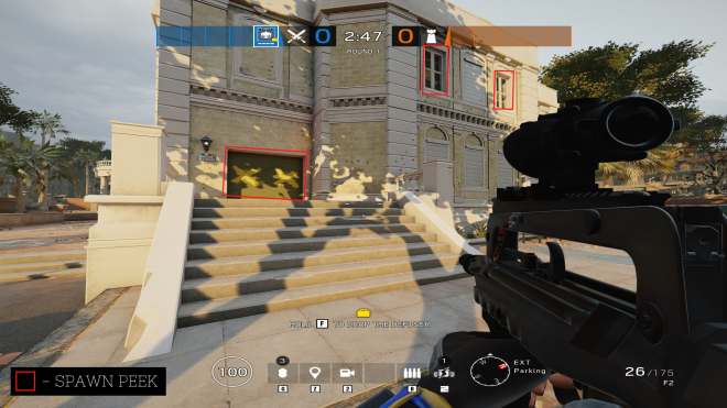 Rainbow Six: Guides - Guide for playing 'Twitch' on 'Consulate'. image 8