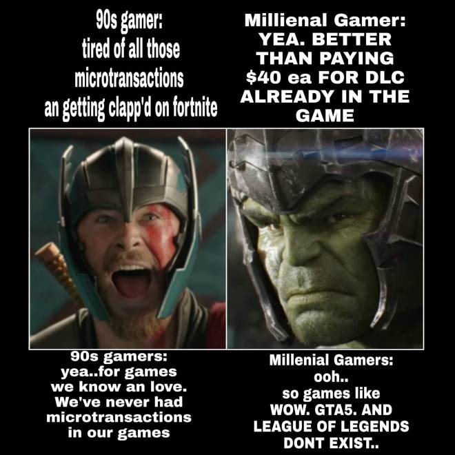 World of Warcraft: General - 90s v Millenial Gamers image 2