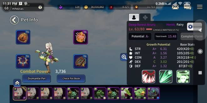 Taming Master: General - impossible get rank A with heroics fairy/demons image 25
