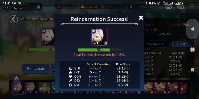 Taming Master: General - impossible get rank A with heroics fairy/demons image 14