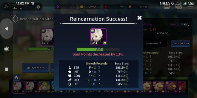 Taming Master: General - impossible get rank A with heroics fairy/demons image 12