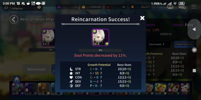 Taming Master: General - impossible get rank A with heroics fairy/demons image 2