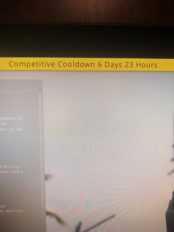 CSGO: General - Welp no comp for a while image 1