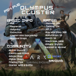 PS4 PVE Olympus Cluster