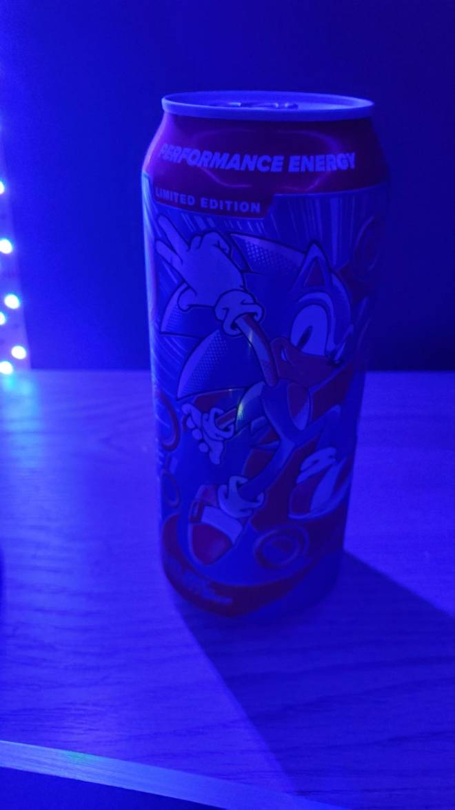 G Fuel: General - My sonic limited edition 4 pack cans finally showed up today  image 2