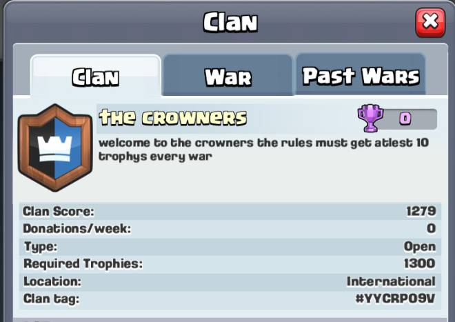 Clash Royale: Recruiting - Please join  image 1