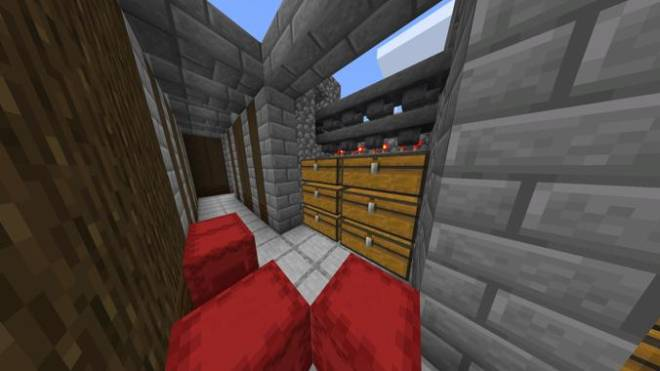 Minecraft: Memes - Redstone item sorter!(Cedem accused me of plagiarism, I made my own concept. Plus it's just a game!) image 1