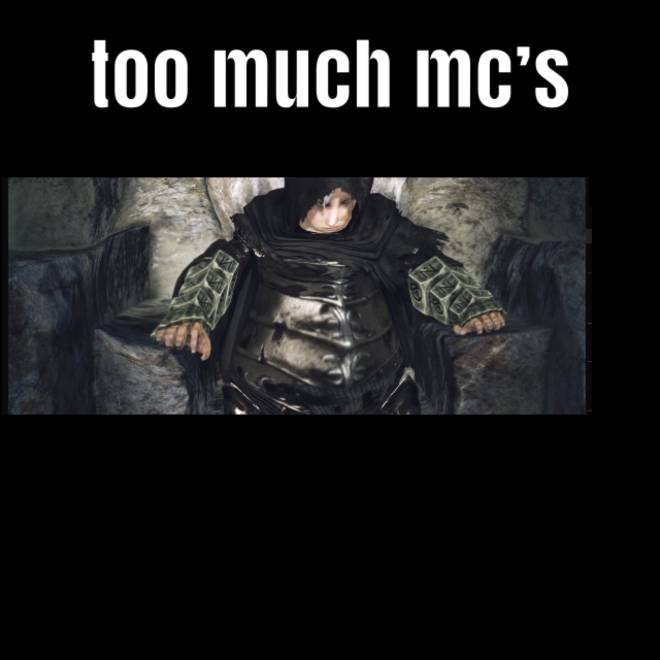 Dark Souls: Memes - When you eat to much McDonald's vs eating healthy dark souls edition  image 1