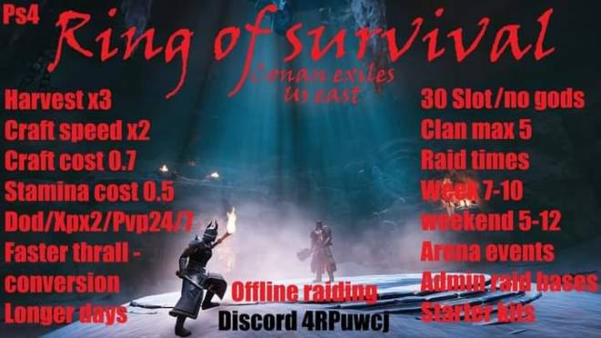 Conan Exiles: General - Clans need competition in this server! image 1