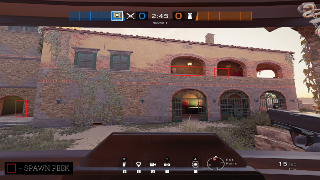 Rainbow Six: Guides - Guide for playing 'Blitz' on 'Villa'. image 6