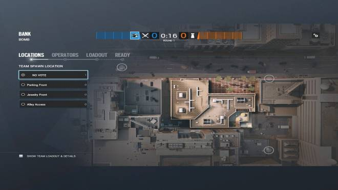 Rainbow Six: Guides - Guide for playing 'Glaz' on 'Bank'. image 4