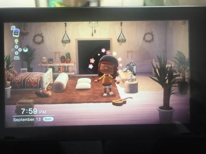 Animal Crossing: Posts - checkout my bedroom & bathroom 😁 image 2
