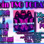 TSO WANTS YOU! JOIN TODAY!
