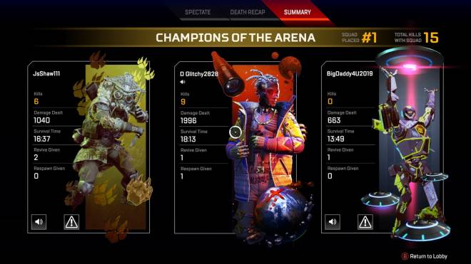 Apex Legends: General - He ain't even my main. image 1