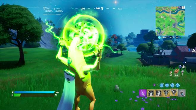 Fortnite: Battle Royale - Trying the powers out in Battle lab Dr doom almost killed me image 3