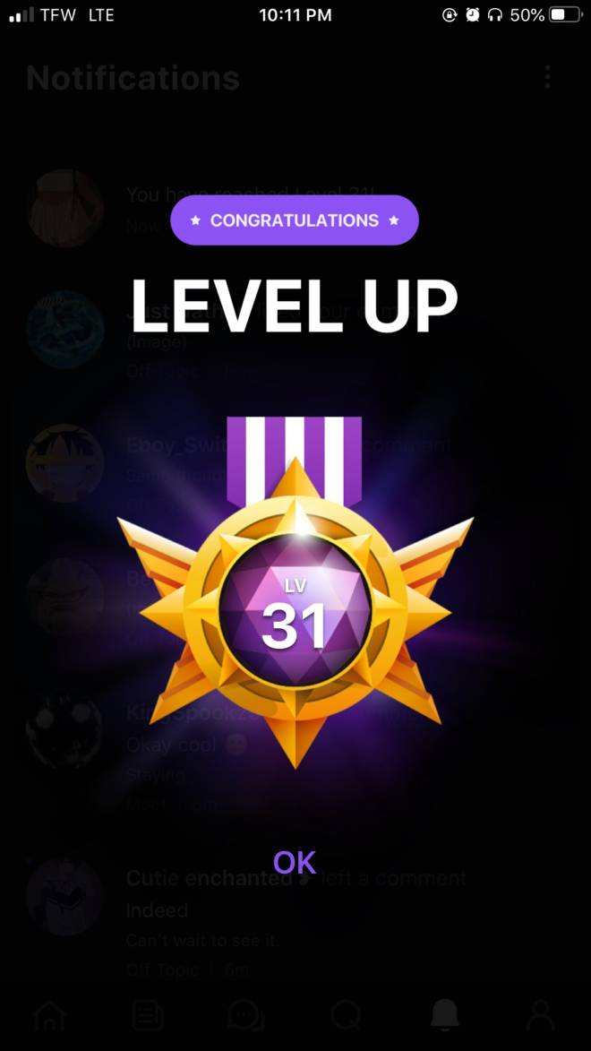 Off Topic: General - Oh hey. Level 31! image 1