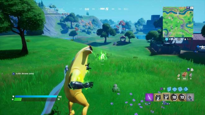 Fortnite: Battle Royale - Trying the powers out in Battle lab Dr doom almost killed me image 2