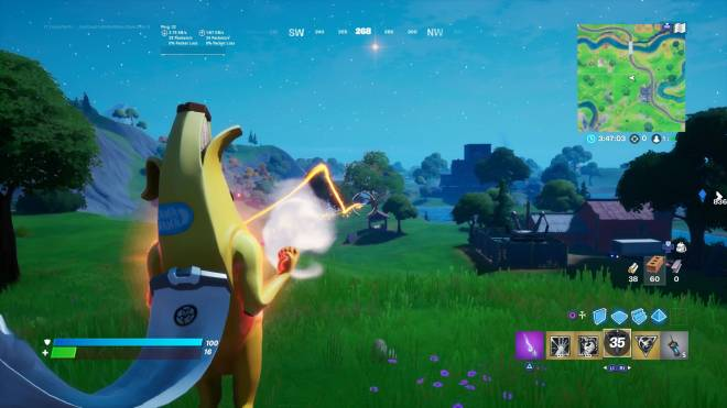 Fortnite: Battle Royale - Trying the powers out in Battle lab Dr doom almost killed me image 1