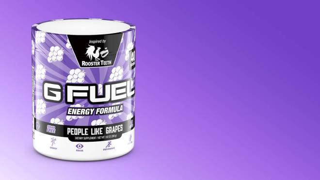 G Fuel: General - *New Grape Design and Name- People Like Grapes Inspired by Rooster Teeth* image 1